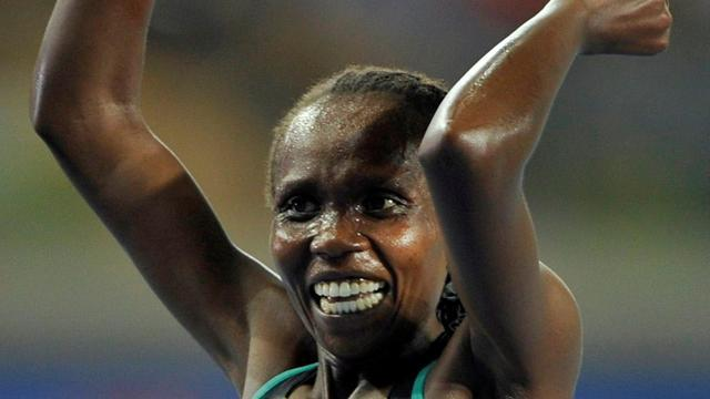 Athletics - Pregnant Cheruiyot will not defend titles in Moscow