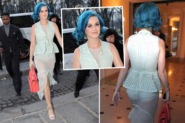 Perry in Paris: Katy rockt im Wäsche-Style (Bilder: Splash)