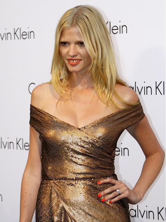 10. Model and David Walliams' wife Lara Stone just made it into the top ten / WENN