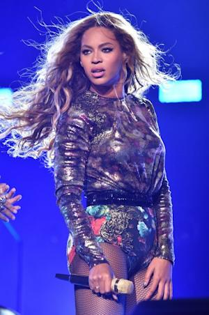 Beyonce performs during the 'On The Run Tour: Beyonce And Jay Z' at Minute Maid Park on July 18, 2014 in Houston -- Getty Images
