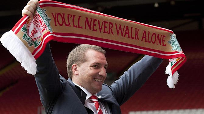 Brendan Rodgers is Liverpool's third manager under FSG ownership