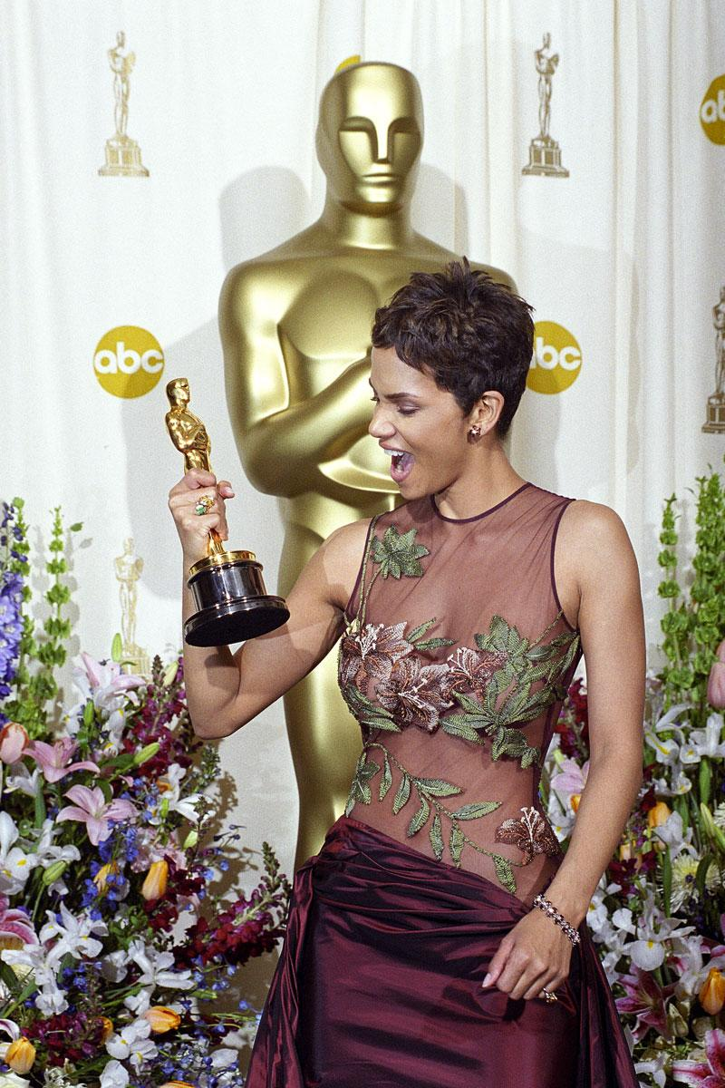 Halle Berry, in 2002
