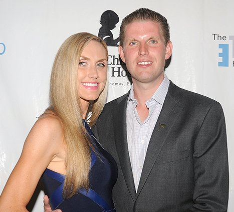 donald trump eric married lara yunaska