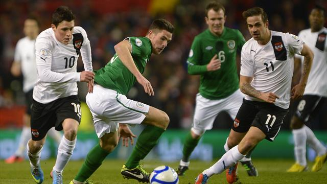 World Cup - Last-gasp Alaba goal sees Austria draw in Dublin