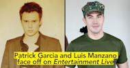 Patrick Garcia and Luis Manzano face off on Entertainment Live