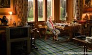 Queen Poses On Remote Spot At Balmoral