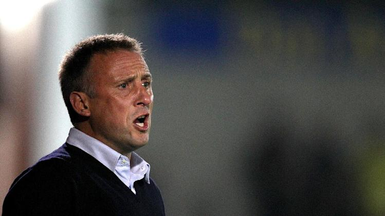 Mark Yates, pictured, was interested in Tristan Plummer when he was at Bristol City
