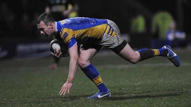 Rugby League - McGuire inspires Leeds to win over Castleford