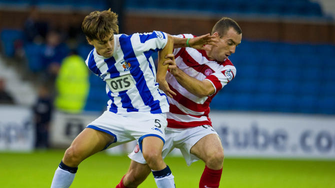 Soccer - Scottish Communities League Cup - Second Round - Kilmarnock v Hamilton Academical - Rugby Park