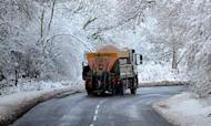 Weather: Ice Warning After Snow And Sleet