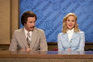 Will Ferrell and Christina Applegate in 'Anchorman' -- Dreamworks