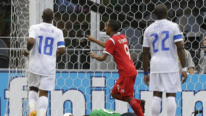 Gold Cup Martinique Panama Soccer
