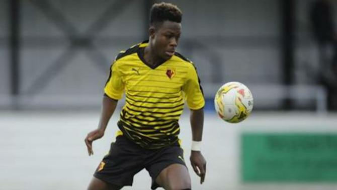 I'm pleased to be off the mark, says Watford's Obi