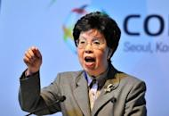 """World Health Organisation director-general Margaret Chan on November 12 lambasted the tobacco industry for seeking to """"maintain its profits and kill at the same time"""" and accused it of complicity in the illicit tobacco trade"""