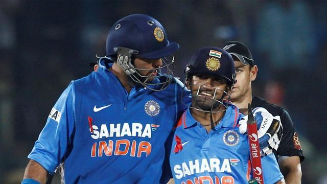 Cricket - Gambhir, Yuvraj out of India's Champions Trophy squad
