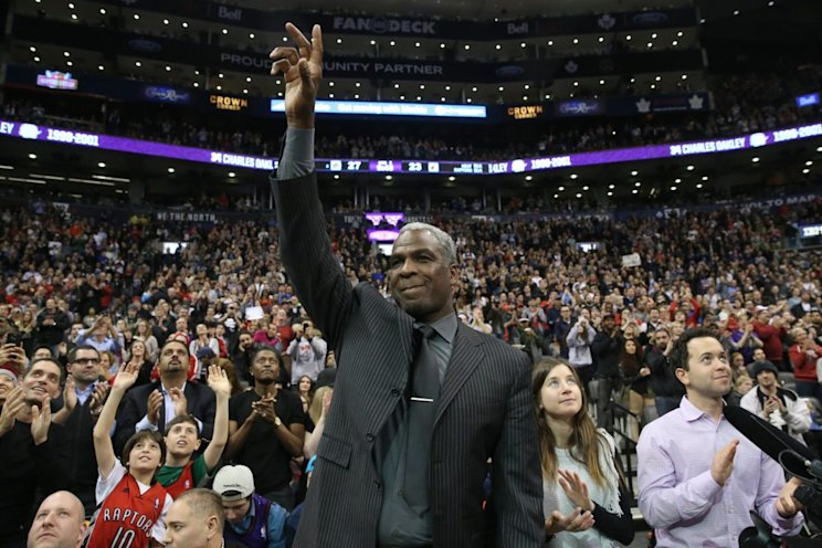 Some NBA stadiums still welcome Charles Oakley with open arms. (Getty Images)