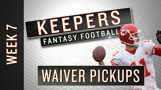 NFL Week 7 fantasy football waiver wire targets