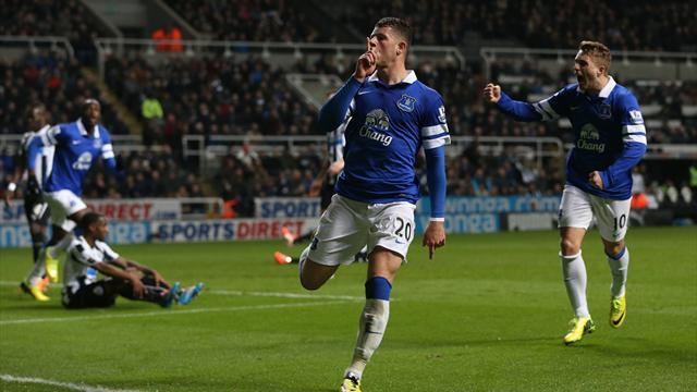 Premier League - Barkley solo effort inspires Everton victory
