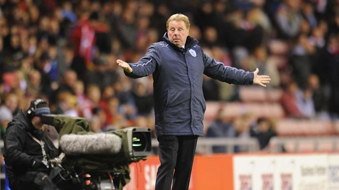 Harry Redknapp is hoping to keep QPR up with the palyers he's got