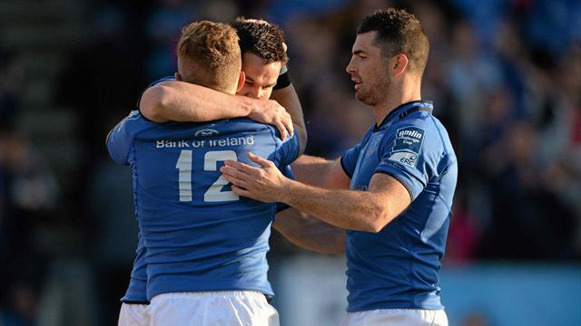 RaboDirect Pro12 - Leinster give Schmidt winning send off in final