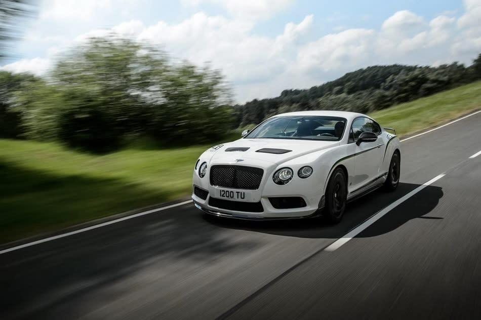 Bentley Continental GT3-R,更猛更輕限量300台