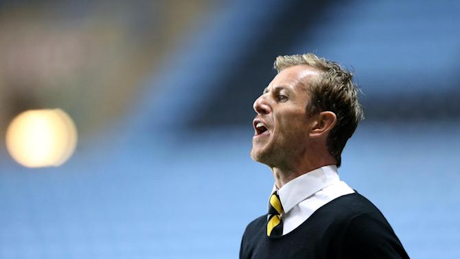 Gary Rowett was disappointed Burton couldn't hold on