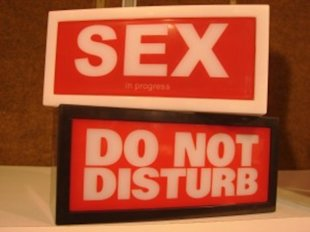 Sex! Do Not Disturb