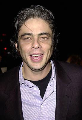 Benicio Del Toro at the Beverly Hills premiere of USA Films' Traffic