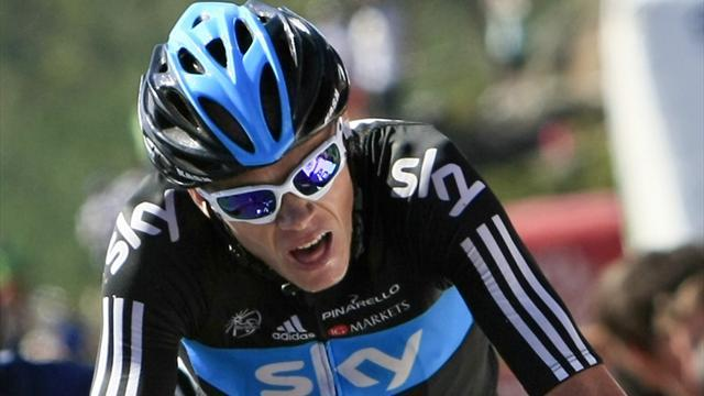 Tour de France - Fearsome Froome in yellow after stage eight win