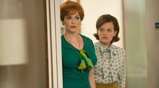 Joan Holloway Harris and Peggy Olson