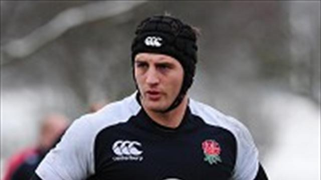 Rugby - Wood keen to nail down number eight role