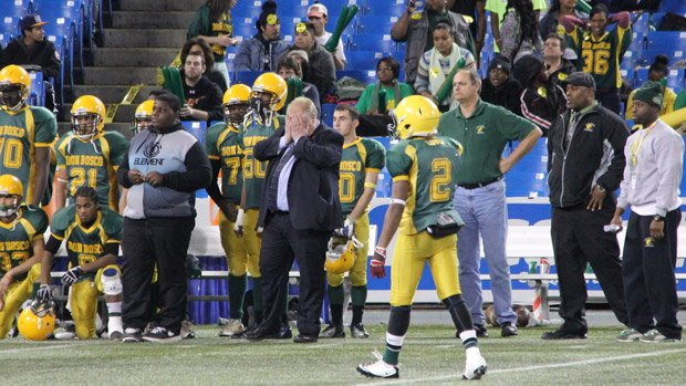 Toronto Mayor Rob Ford is seen reacting after a play during the Metro Bowl held at Rogers Centre on Nov. 27, 2012.