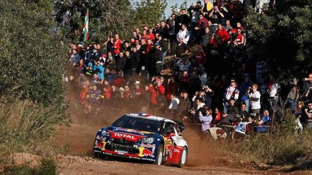 WRC - Loeb profits amid Ostberg dramas in Spain