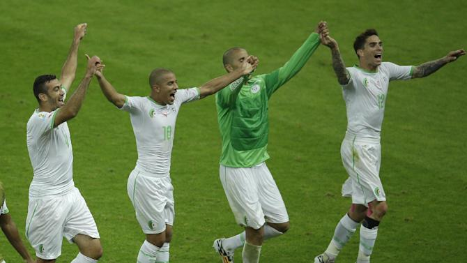 History beckons for Algeria team, coach says