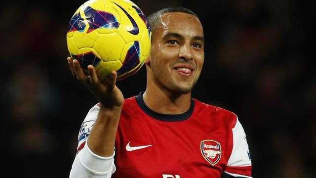 Premier League - Injured Walcott escapes FA action