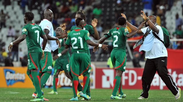 African Cup of Nations - Burkina Faso chase place in first final