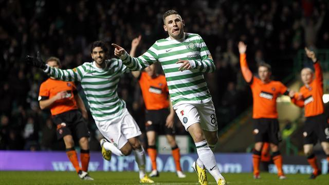 Scottish Premier League - Hooper bags brace in Hoops triumph