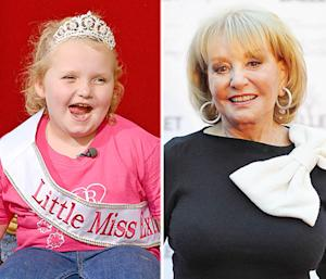"Barbara Walters Anoints Honey Boo Boo As One of the ""Most Fascinating People"" of 2012"