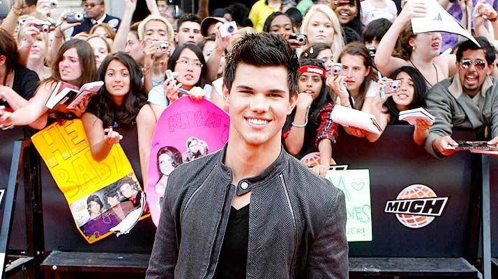 Lautner Taylor Much Music Aw