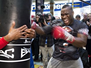 Adonis Stevenson failed to capitalize on his career momentum. (AP)