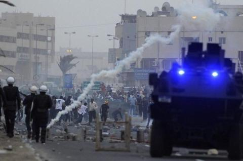 Teen protester 'shot in chest' in Bahrain