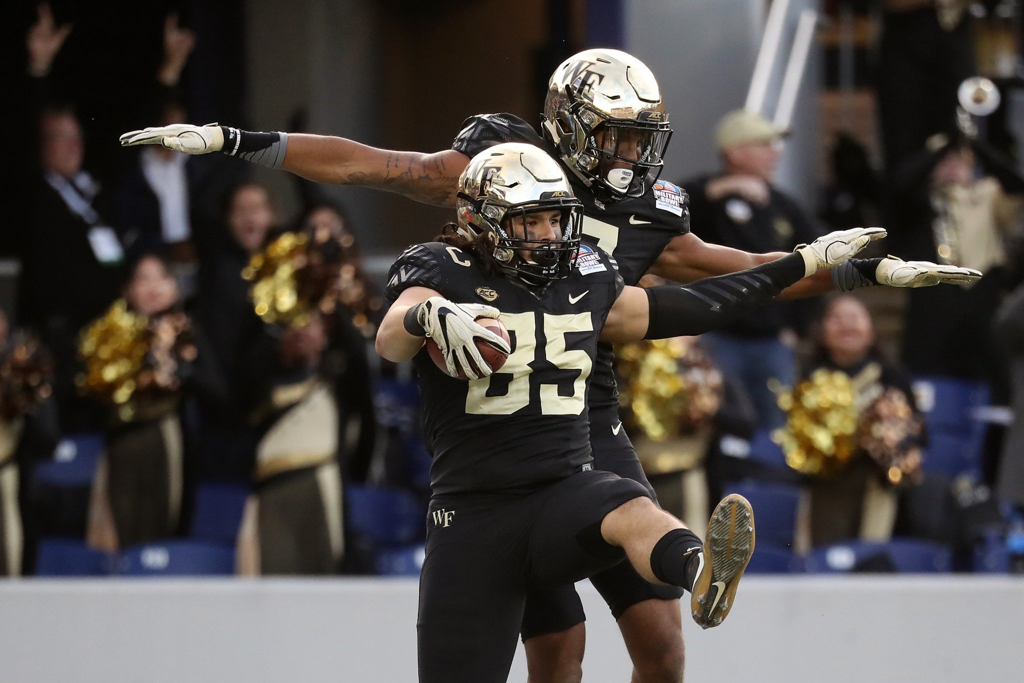 Wake Forest's 7-6 record is the school's first winning season since 2008. (Getty)