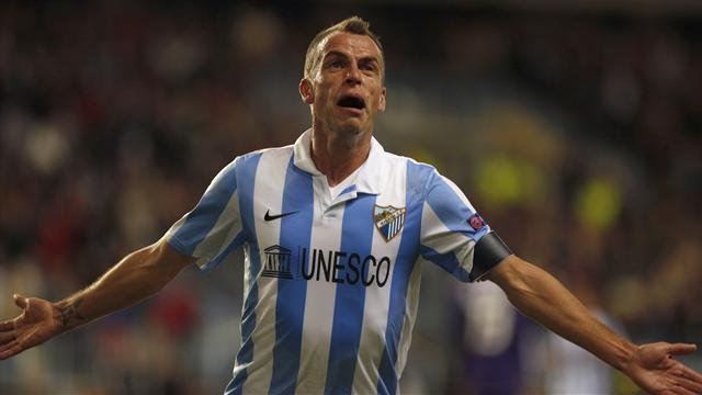 Liga - Duda double gives Malaga derby honours