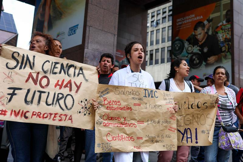 Reclamos gremiales persisten en una Venezuela llena de protestas ciudadanas