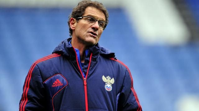 World Cup - Russia coach Capello expects 'big problems' in Brazil
