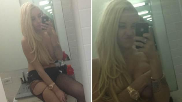 Amanda Bynes goes topless on Twitter on May 1, 2013 -- Twitter