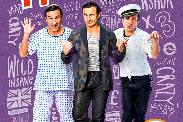 Saif in a triple role in 'Humshakals'