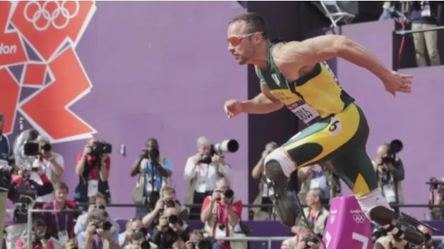 Pistorius sprints to the semifinals