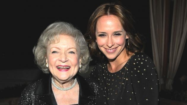 Betty White and Jennifer Love Hewitt attend TV Land's 'Hot In Cleveland' And 'Retired At 35' Premiere Party at the Sunset Tower Hotel in West Hollywood, Calif. on January 10, 2011 -- Getty Images