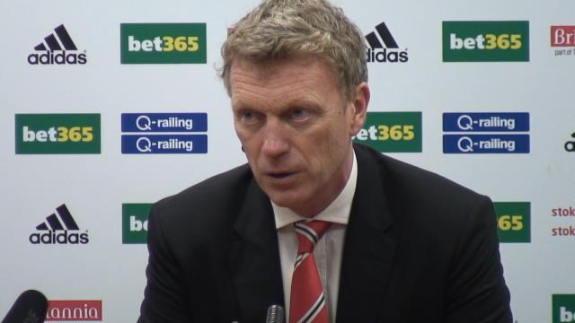 Premier League - Managers: Moyes claims United were beaten by a 'worldy'